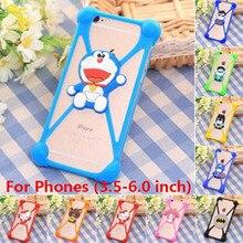 Case etui For iPhone for Samsung for lg g5 g3 g4 nexus 4 5 5x v10 vivo letv 1s 1 pro nubia z7 z9 mini max capa Rubber