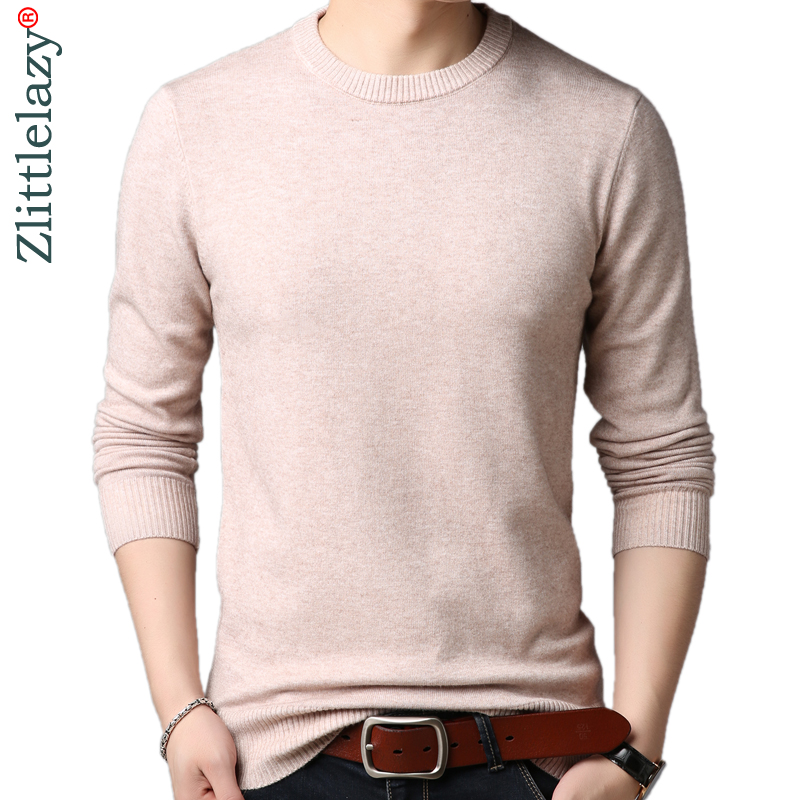 2019 Designer Pullover Winter Men Sweater Dress Thick Jersey Knitted Sweaters Mens Wear Slim Fit Knitwear Fashion Clothing 50503