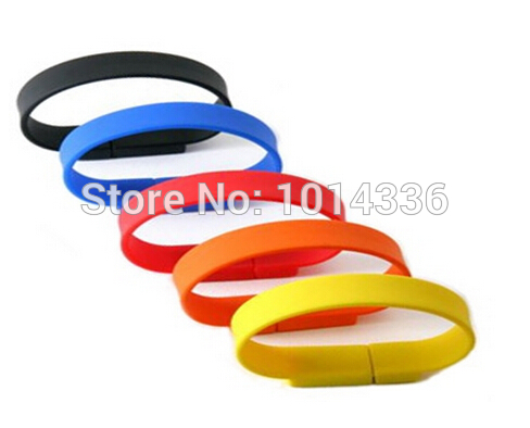 4GB 8G 16G fashion Bracelet Wristband USB Flash Drive Memory Disk Card Stick Thumb/Car/Pendrive Key U Disk/creative Gift S363