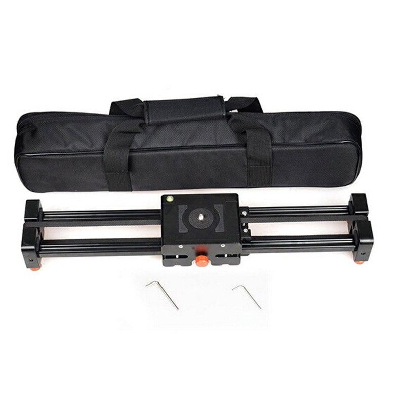 50 cm versenkbare kamera video dolly track stabilisator schiebe abstand schiene für canon nikon sony dslr foto stutio