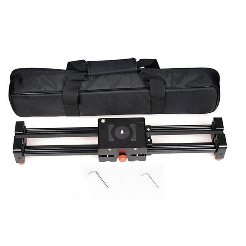 50cm Retractable camera Video Slider Dolly Track Stabilizer Sliding Distance Rail for canon nikon sony DSLR photo stutio