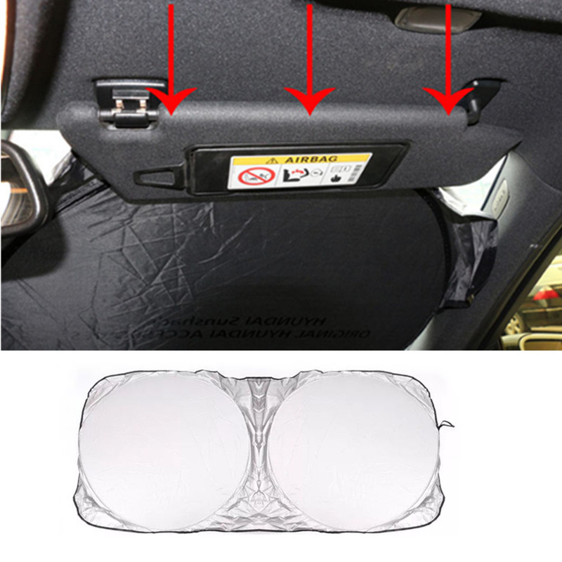 Car Sunshade <font><b>Sun</b></font> Shade Front Rear Window Cover for Porsche 918 Cayman Boxster 919 718 GT3 Macan Cayenne 911 Mission image