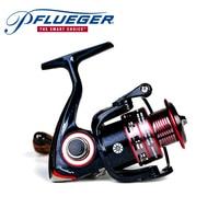 Pflueger PRESLESP 20X 25X 30X 35X Spinning Carrete de Pesca de Agua Dulce Sal 10BB 5.2: 1 Material de Grafito Max Drag 5.4 KG Carrete