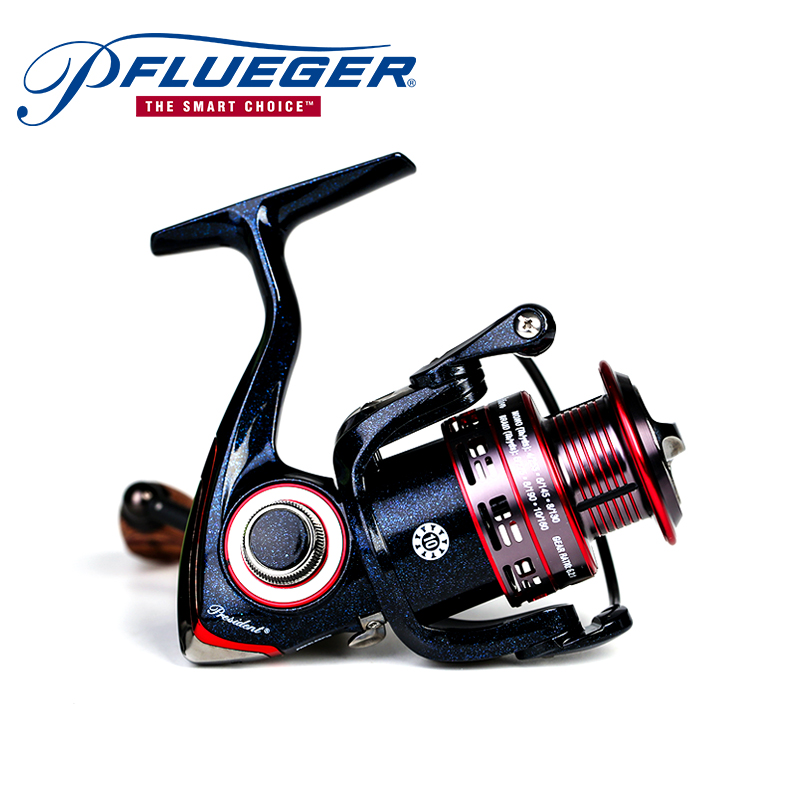 Pflueger PRESLESP 20X 25X 30X 35X Spinning Fishing Reel Salt Fresh Water 10BB 5.2:1 Graphite Material Max Drag 5.4KG Reel клещи переставные kraftool kraft max 22011 10 25