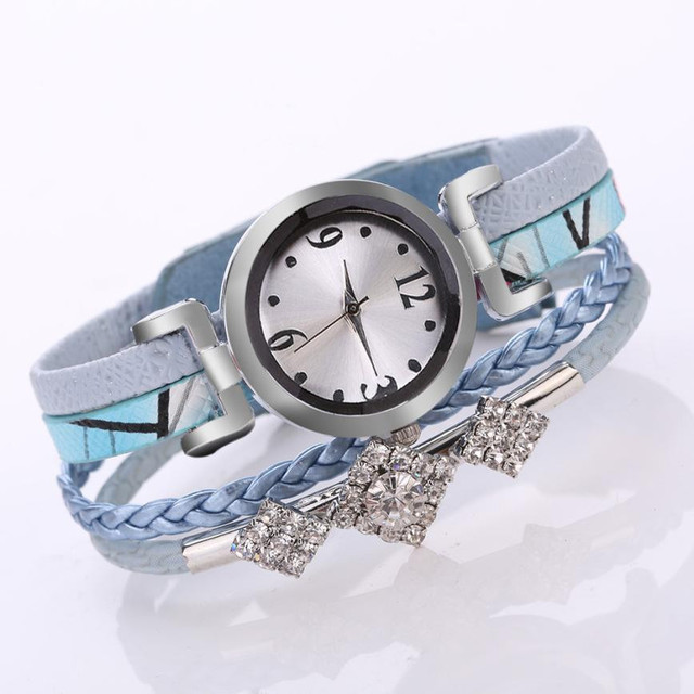 Fashion 2019 Watch Flower Quartz Watch Simple Fashion women Glass Alloy Casual Bracelet Watch women watches luxury ladies  #15