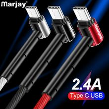 Marjay Usb type c cable Holder Fast Charging usb data Cord usb-c Charger For Samsung S10 S9 S8 xiaomi mi 8 redmi Type-c