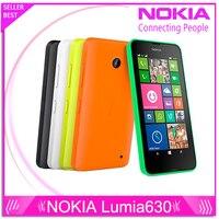 Original Nokia Lumia 630 Cell Phones 4 5 Windows Phone 8 1 Snapdragon 400 Quad