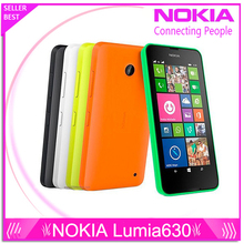 Original Nokia Lumia 630 Cell Phones 4.5″ Windows Phone 8.1 Snapdragon 400 Quad Core 1.2GHz IPS 512MB+8GB Dual Sim 3G WCDMA