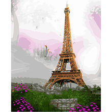 Paris, London, eiffel malerei by zahlen bild modulare diy ölgemälde auf leinwand home cuadros decor wandkunst dy472