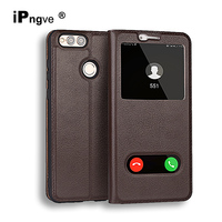 Genuine Leather Flip Cover Case For IPhone 6 6S Phone Coque With Card Slot Full Protective