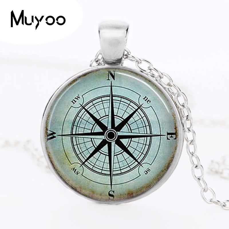 Buy wind rose necklace and get free shipping on AliExpress.com