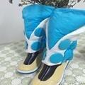 Popular Dramatical Murder DMMD Seragaki Aoba Cosplay Botas Sapatos Azul Cobre Frete Grátis