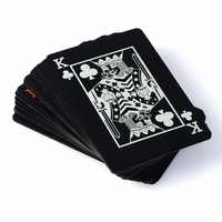 Texas Holdem Waterproof Plastic playing card game poker cards Waterproof and dull polish poker star Board games