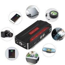 Новые 68000 мАч 4USB 12 В автомобиль скачок стартер Power Bank портативный мини для аварийного пуска платной аккумулятора Лидер продаж