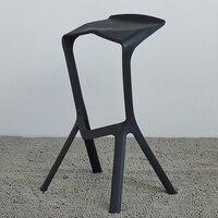 Планка Миура барный стул, бар набор мебели, барные стулья, 4 шт., рот акулы стул, барный стул