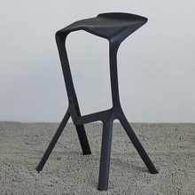 Plank Miura Bar Stool,bar furniture set,bar chairs,4 piece,The shark's mouth chair,bar stool(China)