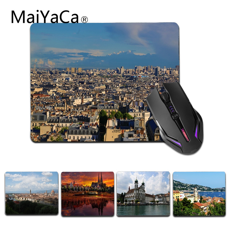 MaiYaCa Beautiful Anime Europe Computer Gaming Mouse mats Size for 180x220x2mm and 250x290x2mm Small Mousemat