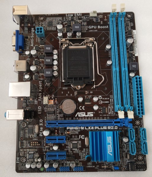 US $41 66 17% OFF|Free shipping original motherboard for ASUS P8H61 M LX3  PLUS R2 0 DDR3 LGA 1155 Support I3 I5 I7 H61 Desktop motherborad-in