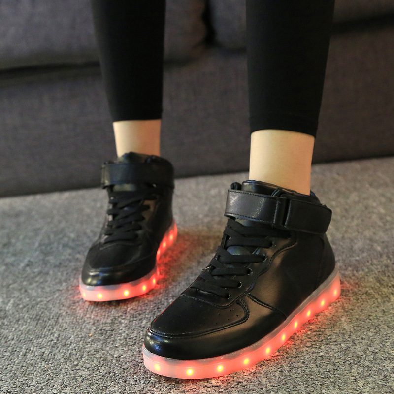 7ipupas-High-quality-Low-price-Luminous-Sneakers-Kids-Boys-Girls-USB-Charger-Led-Light-Shoes-Unisex-High-Top-Sports-for-children-2