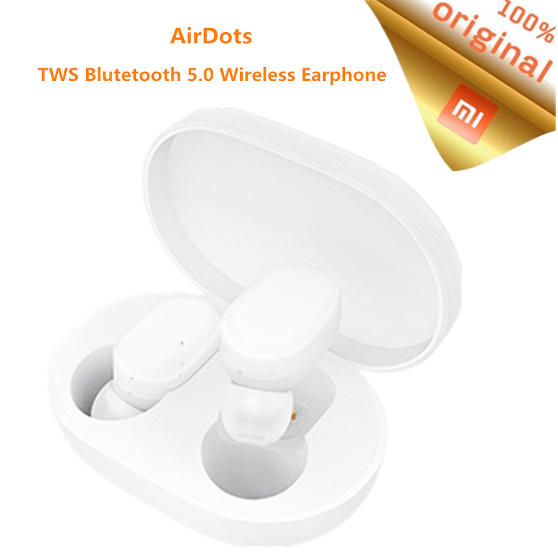 Original Xiaomi TWS AirDots bluetooth Earphone Youth Version Stereo MI Mini Wireless Bluetooth 5 0 Headset