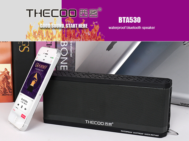 Thecoo BTA530 High Quality Outdoor Bluetooth 4.0 Waterproof s
