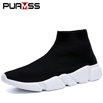 Men Casual Socks Shoes Sneakers 2019 New Breathable Male Fashion Walk Casual Shoes for Men Large Size 36-46 Zapatos De Hombre