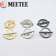 10Pcs Fashion Women Metal Button Belt Buckle For Down Coat Hooks Clothes Hasp DIY Decorative Sewing Accessories