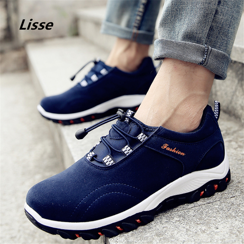 2018 Outdoor Sport Shoes men Sneakers man Brand Running shoes Breathable Anti-skid Off-road Jogging Trainers Walking Athletic