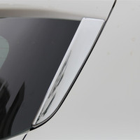 ABS Chrome Tail Rear Trunk Window Side Cover Trim Car Styling Accessories Fit For Ford Kuga