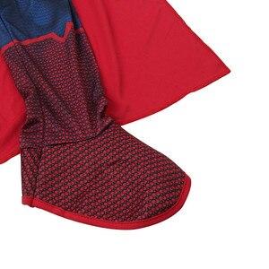 Image 5 - Di alta Qualità Per Bambini Superman Cosplay Costume di Halloween Per I Bambini