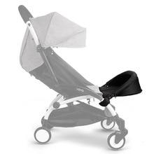 32cm Extended footboard Baby Stroller Accessories For Babyyoya Babyzen Yoyo Vovo Babytime Babyyoya Stroller Rest Foot недорого
