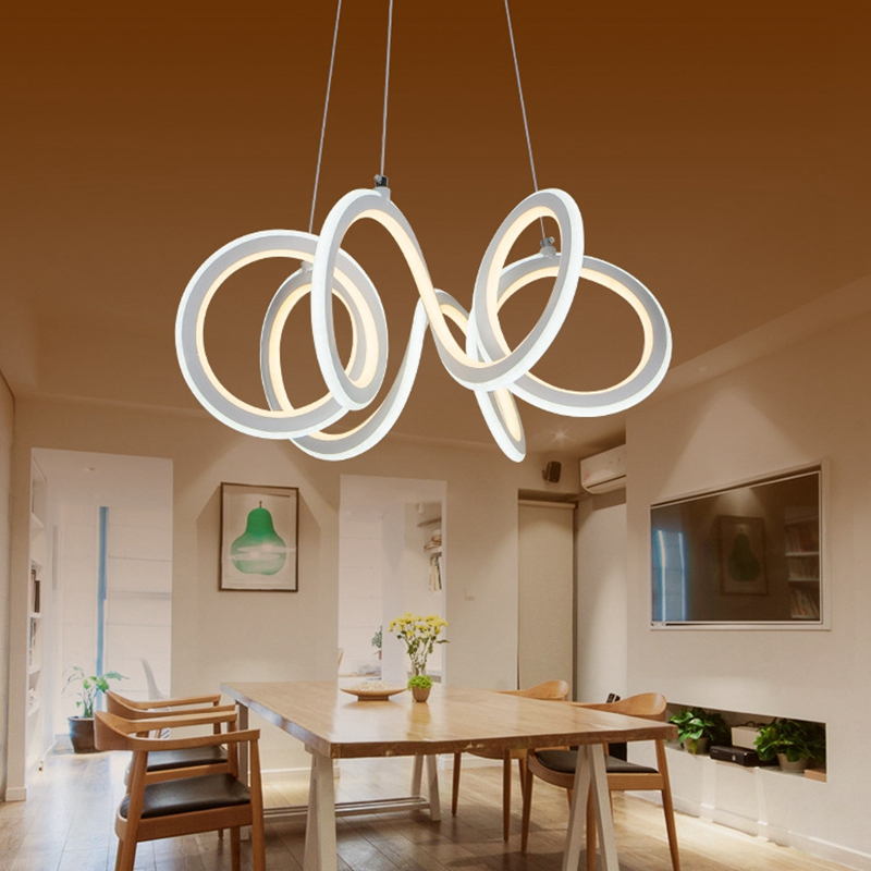 LukLoy Modern Pendant Light Creative Simple LED Double-sided illumination Light Personality Shaped Restaurant Bar Cafe Light light the mediterranean restaurant in front of the hotel cafe bar small aisle entrance hall creative pendant light df57