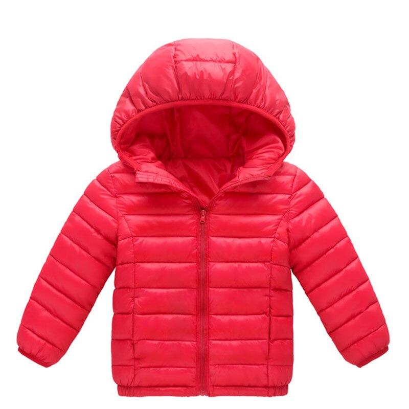Outono Inverno Meninos Meninas Jaqueta Casaco 2018 Novas Crianças Com Capuz Para Baixo Quente Outerwear Roupas de Bebê Crianças Casaco Parka 4 6 8 10 12 Anos