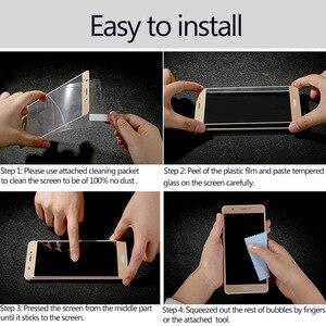 Image 5 - 2 piezas Protector de pantalla LCD Xiaomi Mi 8 Lite pegamento completo de vidrio Xiomi Mi 8 Lite 2.5D cubierta completa de vidrio templado para Xiaomi Mi 8X Film ^
