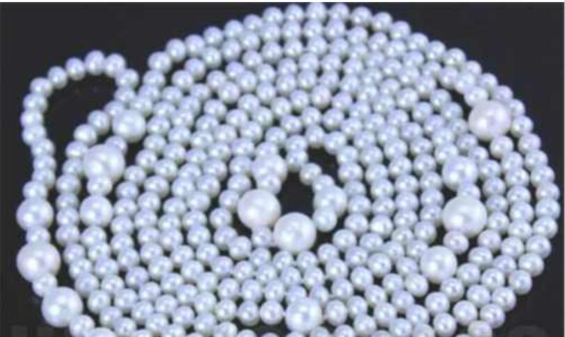 single 9-12 mm south white pearl necklace 100 inchsingle 9-12 mm south white pearl necklace 100 inch