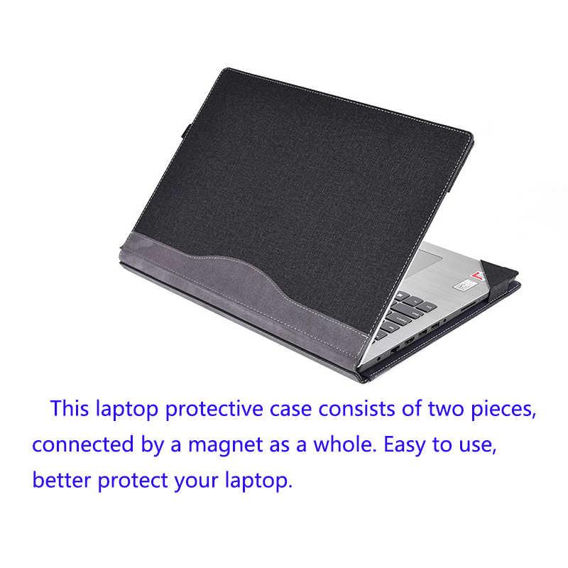 Pochette pour ordinateur portable pour 15.6 Lenovo Ideapad 330 320 310 PU cuir Split Design housse de protection pour Ideapad 520 510 housse pratique pour ordinateur portable