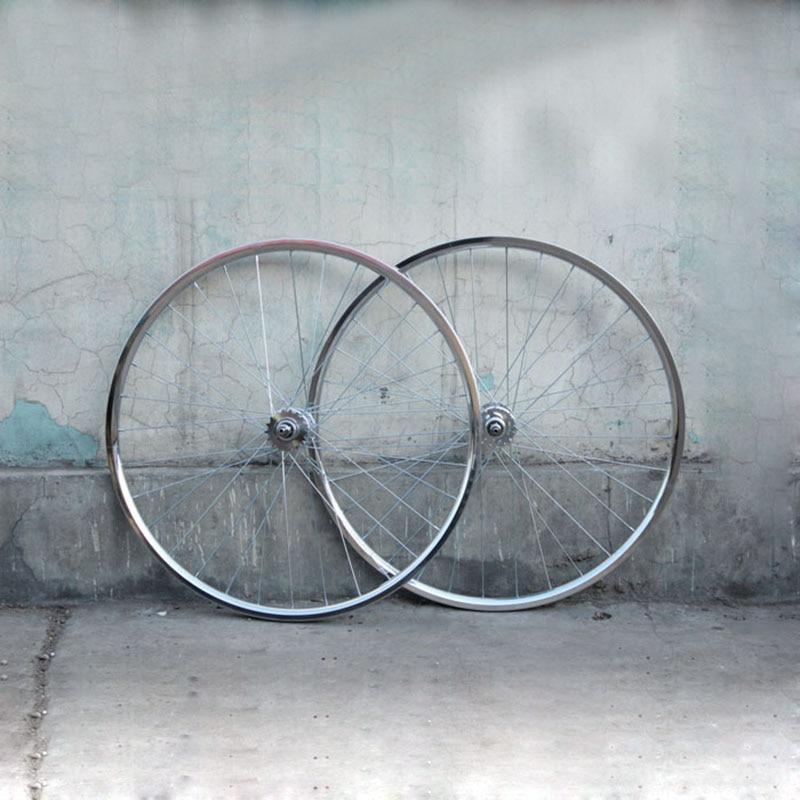 Retro plating 20mm Rim 700C rim wheel bike fixed gear bike Rim Aluminum Alloy Cycling RIM for fixed gear wheels rim sprocket