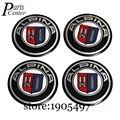 Pegatinas de coche Emblema Decal Placa Para ALPINA Logo del Centro de Rueda 56.5mm Arco superficie Hub Caps Para BMW E90 E91 E92 E93 E87 E86 E53 E60