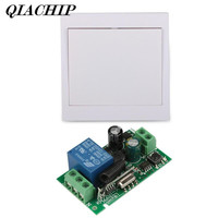 433MHz Wall Panel Switch Remote Module 433MHz RF TX Relay Receiver Transmitter 1 CH Receiver Remote