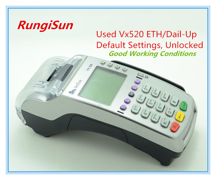 Verifone Used Vx520 RS232/ETH/Dial-up