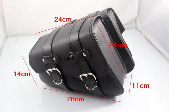 9aa772a22fad Free shipping The new heavy motorcycle motorcycle modified cars cruising  Knight Bag Kit front pack saddle bag