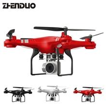 ZhenDuo Toys SH5HD RC Drone 2.0MP HD камера 360 градусов 170 широкоугольный объектив Quadcopter RC WiFi FPV Вертолет пульт дистанционного управления игрушки