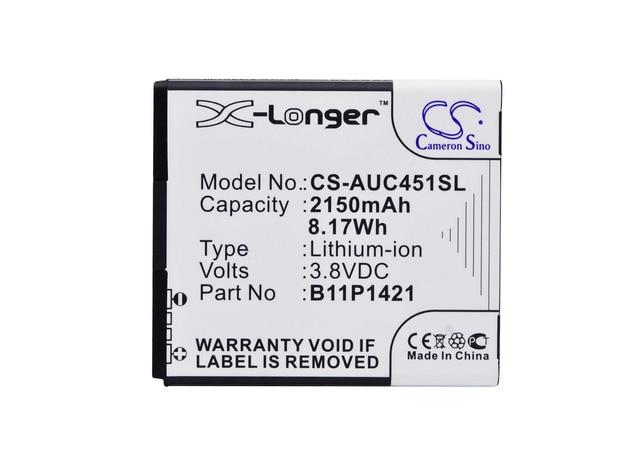 Cameron Sino High Quality 2150mAh Battery B11P1421 for Asus Z007, ZC451CG, Zenfone C