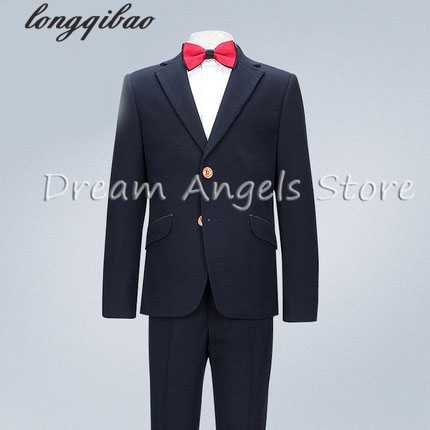 High quality fashion baby kids boys children blazers suits boys suits for weddings formal black wedding suit flower boy dress high quality 2016 new arrival fashion baby boys kids blazers boy suit for weddings prom formal dark blue dress wedding boy suits