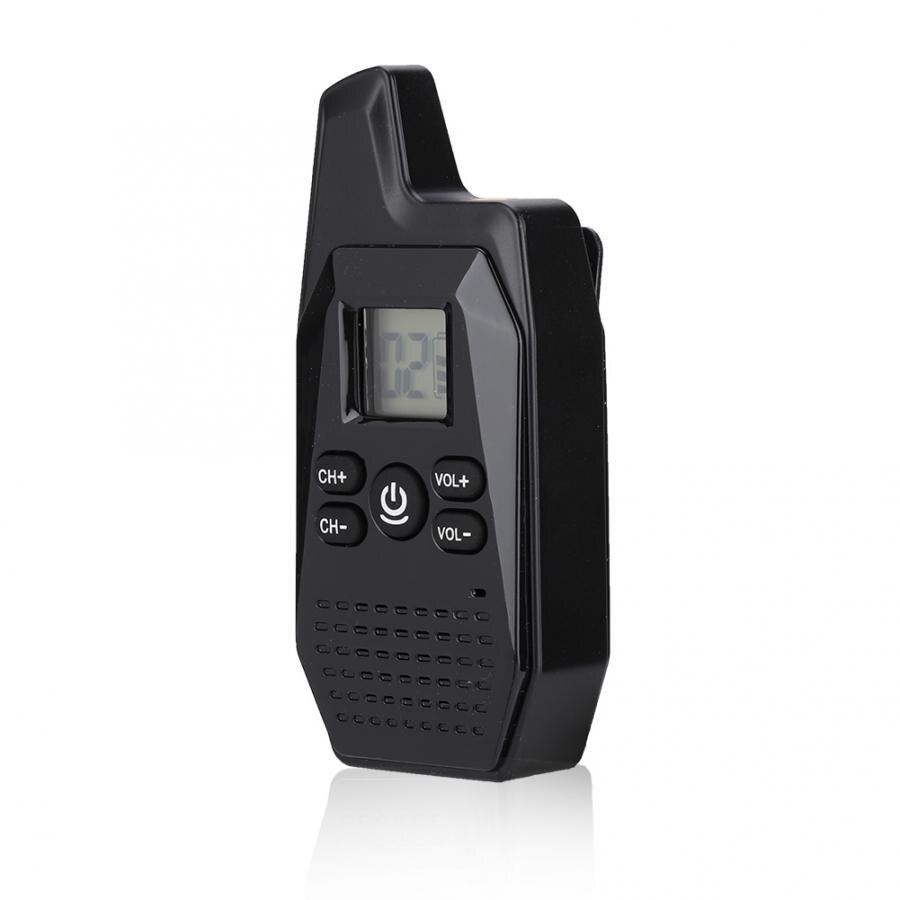 Portable Radio GX-V10 Mini Portable Business Handheld UHF/VHF Walkie Talkie Two Way Radio 400-480MHz