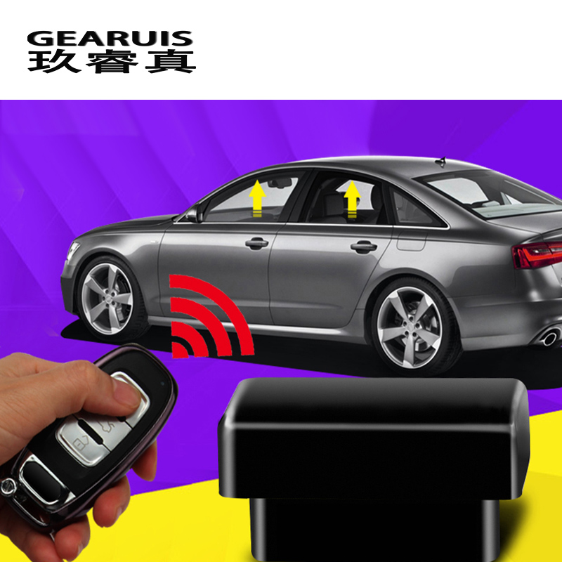 Car Styling For Audi A4 B8 A6 C7 Q5 Auto Window Glass Lift Automatic Door Lock Closing OBD System Suitable Interior Accessories