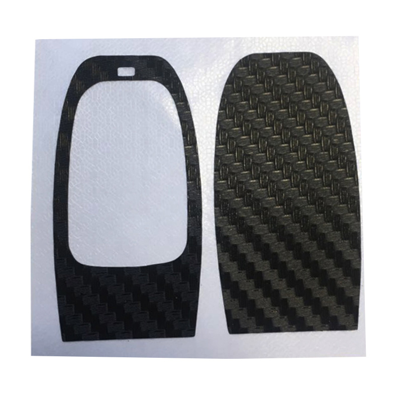 Image 2 - 1Set Black Carbon Fiber Car Key Sticker for Audi A4 A6 RS4 A5 A7 A8 S5 RS5 8T Q5 S5 S6 Car Key Refitting Accessories-in Car Stickers from Automobiles & Motorcycles
