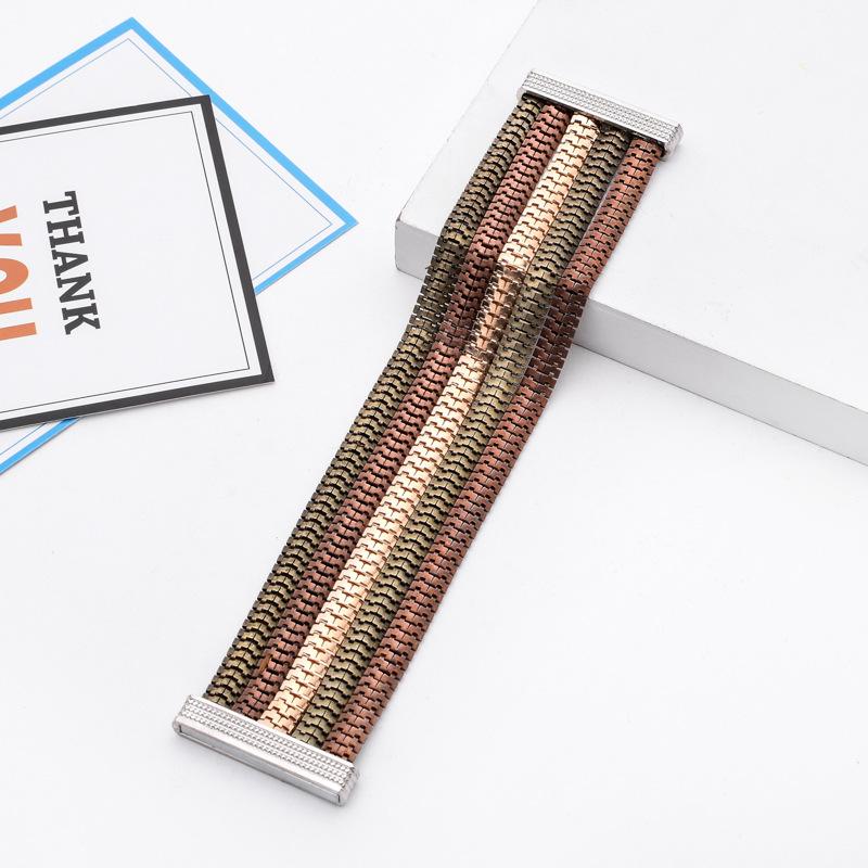 Браслет homme для мужчин мужские широкие браслеты золотые магнитные