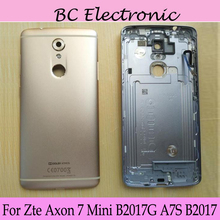 Battery back cover For Zte Axon 7 Mini Axon7 B2017G A7S B2017 Rear Back Battery Door Cover Housing Replacement Repair Parts