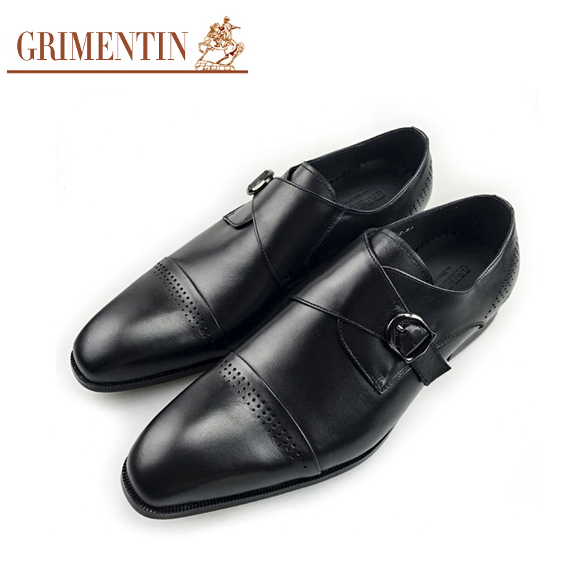 Men wedding shoes genuine leather brand designer monk strap classic european formal flats GRIMENTIN 10pcs lot 3d printer ntc thermistor 100 k accuracy 1